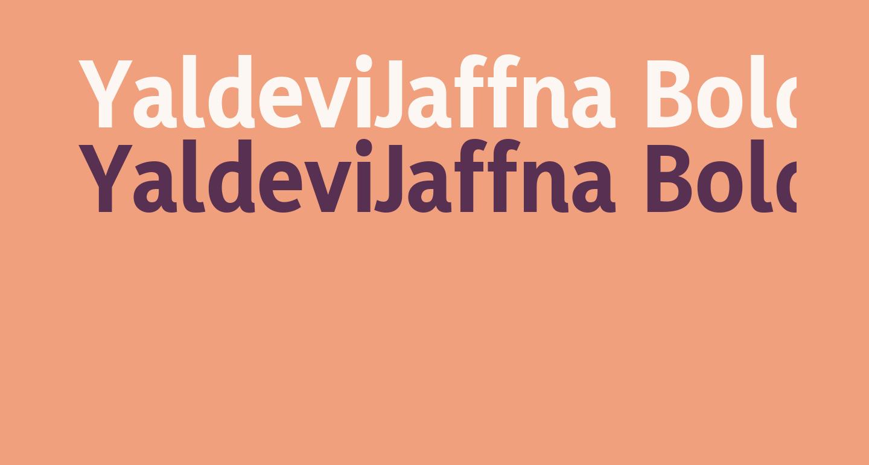 YaldeviJaffna Bold