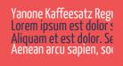 Yanone Kaffeesatz Regular