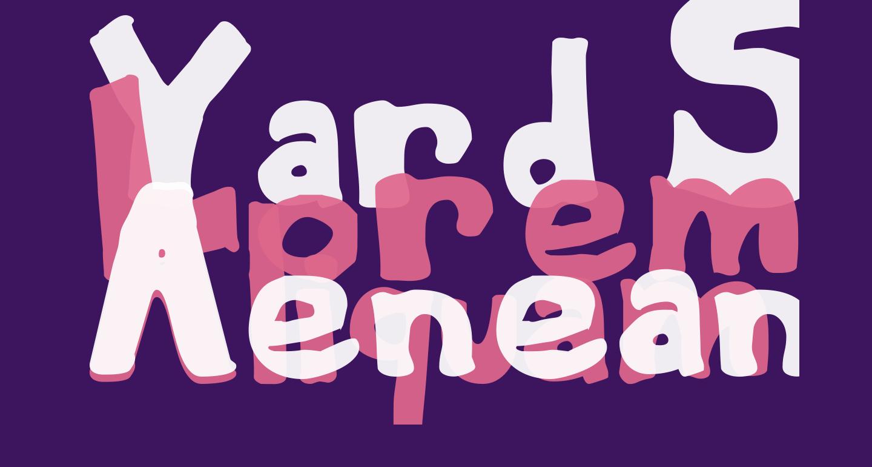 Yard Sale Regular