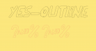 YES_outlineitalic Book