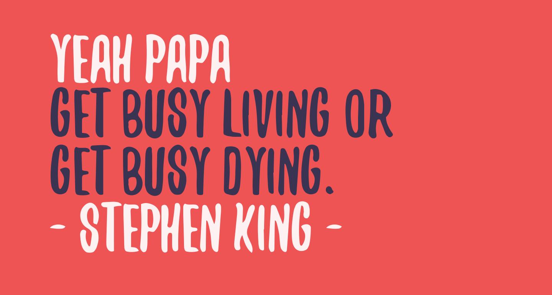 Yeah Papa