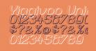 Yiggivoo Unicode 3D Italic