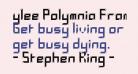 ylee Polymnia Framed