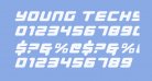 Young Techs Expanded Italic