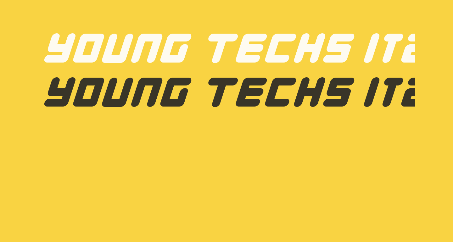 Young Techs Italic