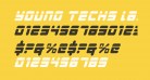 Young Techs Laser Italic