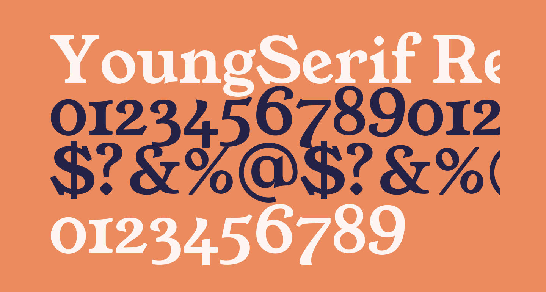 YoungSerif Regular