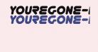 YoureGone-Italic