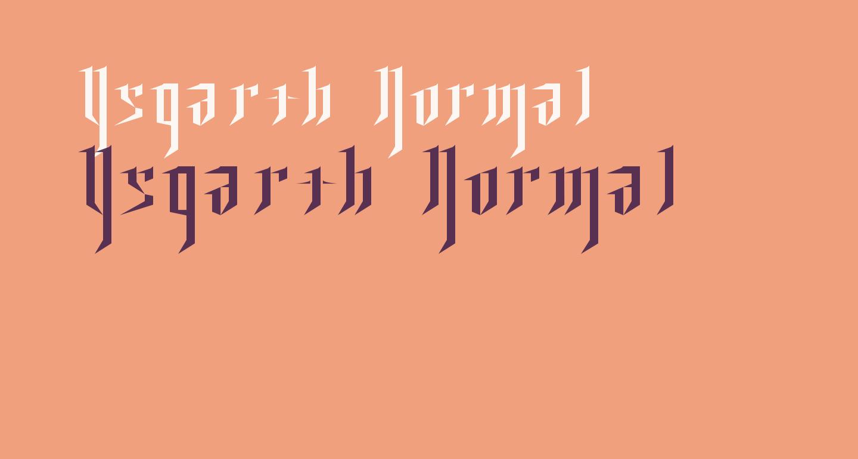 Ysgarth Normal