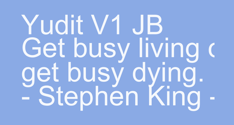 Yudit V1 JB