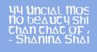 YY Uncial Most Irish Molded