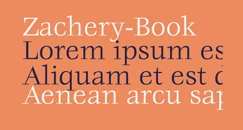 Zachery-Book