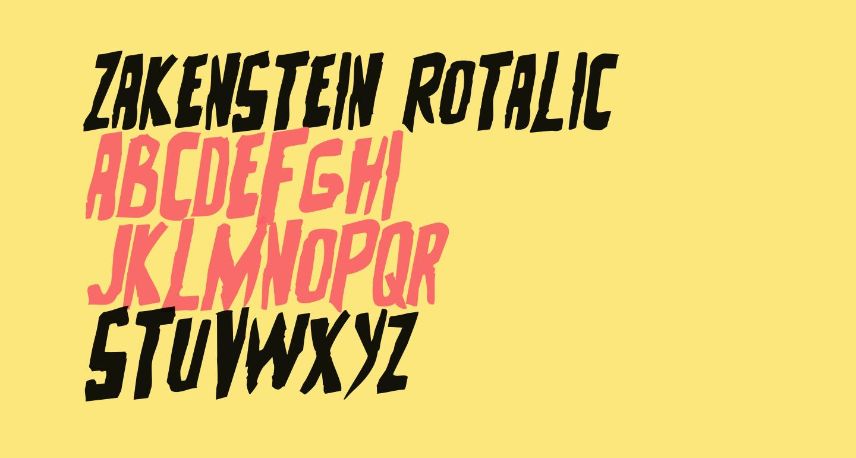 Zakenstein Rotalic