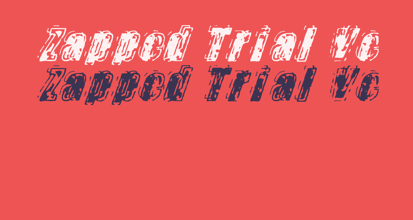 Zapped Trial Version