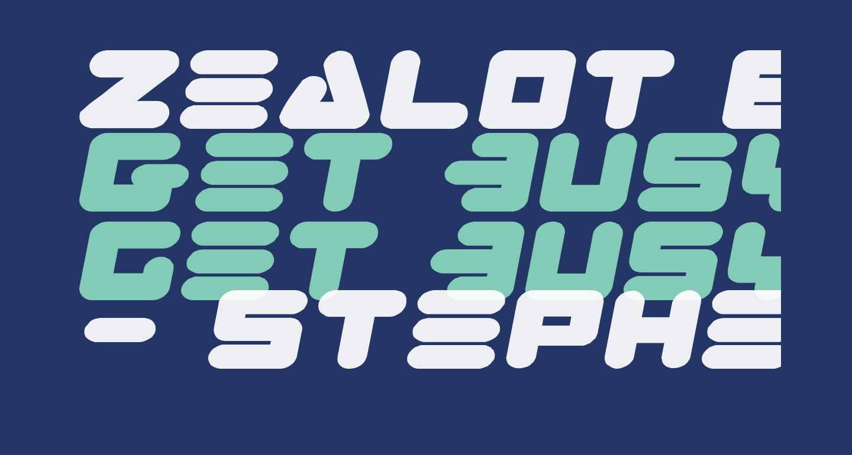 Zealot Expanded Italic