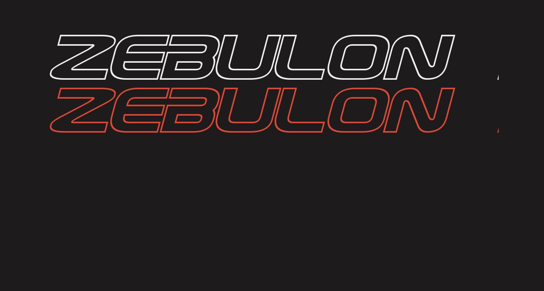 Zebulon Hollow Italic