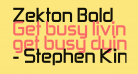 Zekton Bold