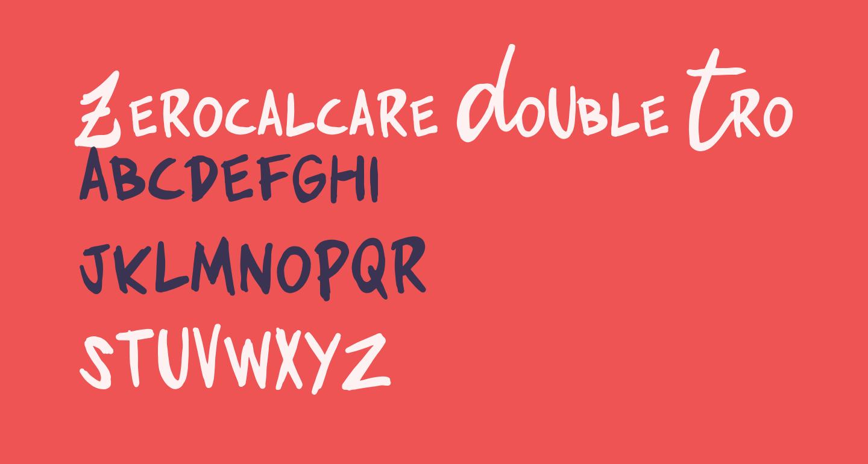 Zerocalcare Double Trouble