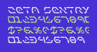 Zeta Sentry Bold Leftalic