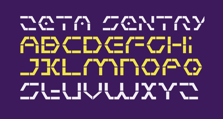 Zeta Sentry Bold