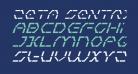 Zeta Sentry Italic