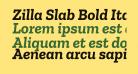 Zilla Slab Bold Italic