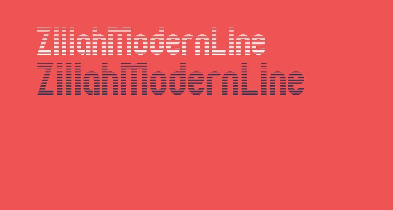 ZillahModernLine