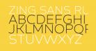 Zing Sans Rust Light Demo Base