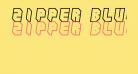 Zipper blues Outline