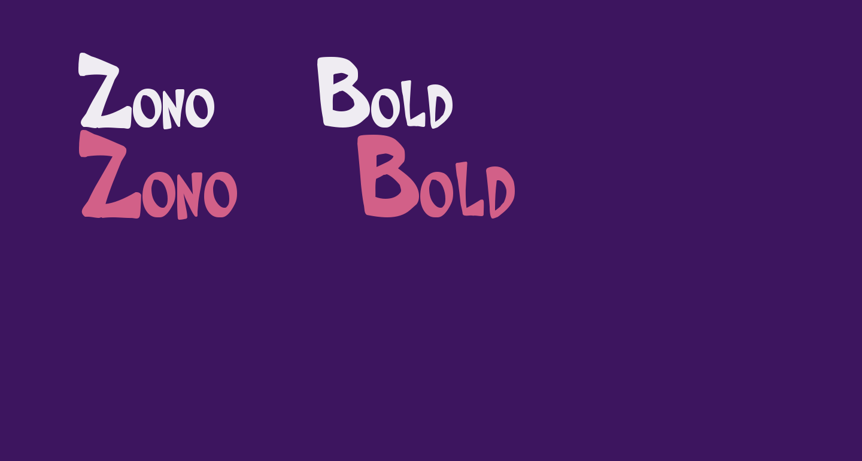 Zono  Bold
