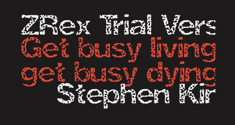 ZRex Trial Version