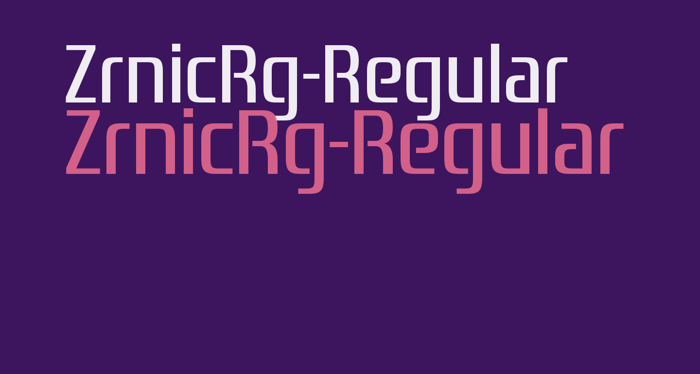 ZrnicRg-Regular