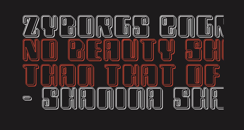 Zyborgs Engraved