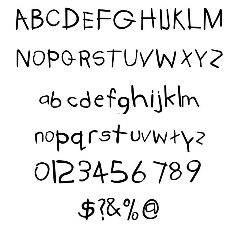 Kidstuff Bold font