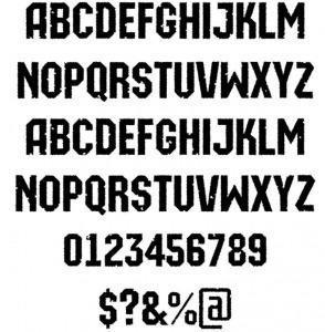 a_MachinaOrtoRg&Bt font