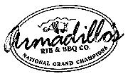 Can anyone tell me what font Armadillo's is?