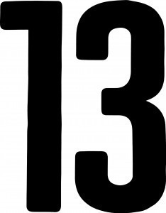 NUMBERS 13