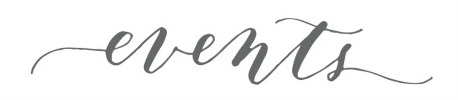 events - font name plaease?