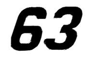 1997 NASCAR Number Font