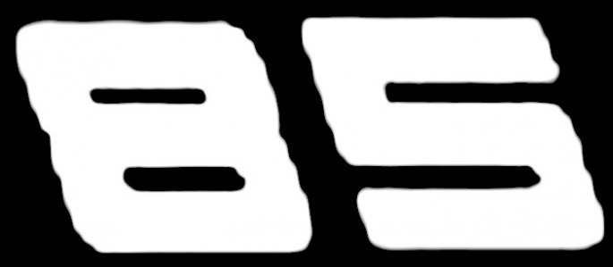 Racing Number Font