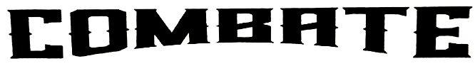 Combate font