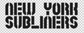 'New York Subliners' Logo Font (COD League)