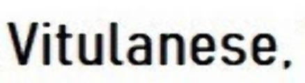 '' Vitulanese ''