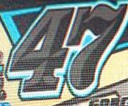 Font used for 47