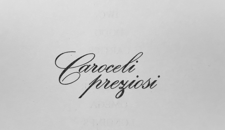 Che font è questo?