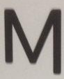 '' M ''