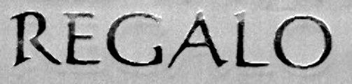 '' R E G A L O ''