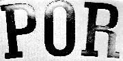 '' POR ''