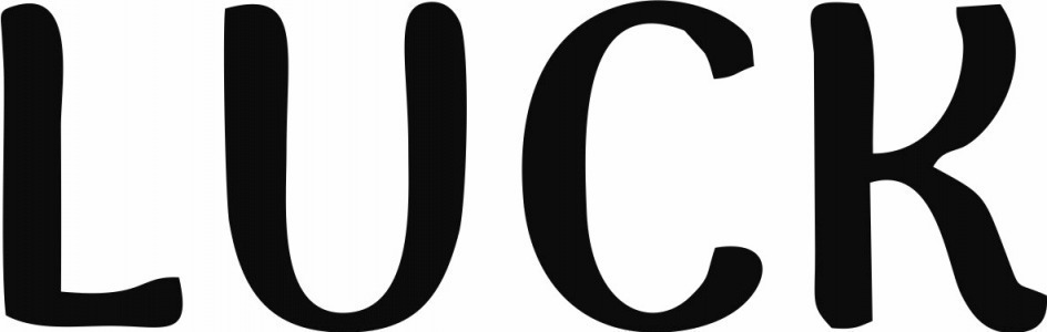 searching for this font : LUCK