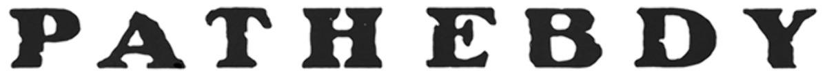 Pat Garrett and Billy the Kid Movie Titles Font